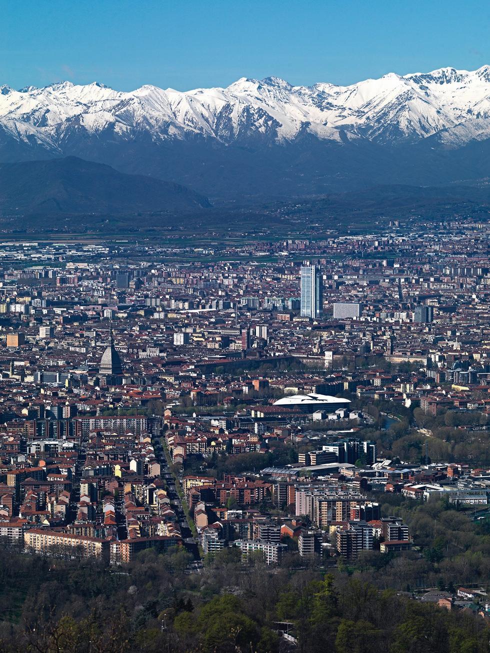 Biurowiec w Turynie