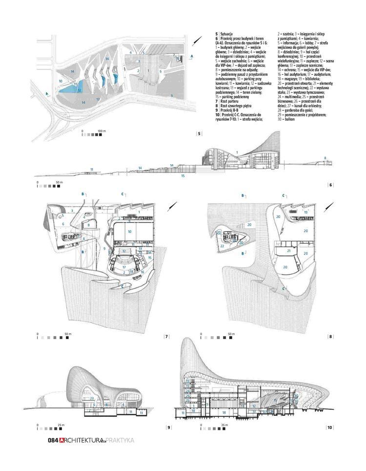 Zaha Hadid Centrum kultury w Baku