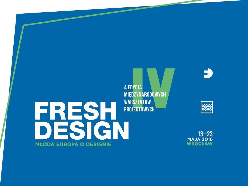 """FRESH DESIGN – Młoda Europa o Designie"""