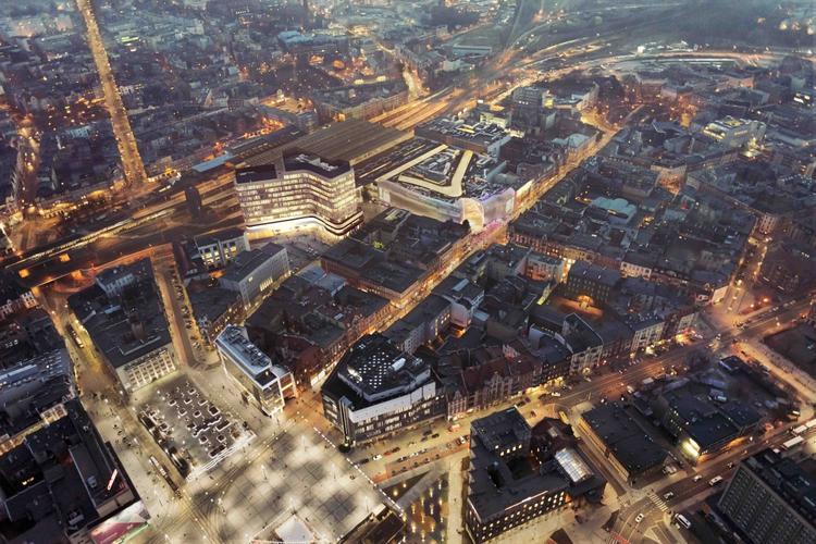 Biurowiec Grand Central w Katowicach