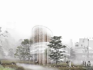 Centrum Muzyki w Tokio [projekt studencki]