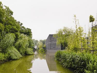 Osiedle Xixi Wetland w Hangzhou
