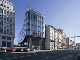 Architektoniczny zwornik – o biurowcu Nowy Świat Krzysztof Mycielski