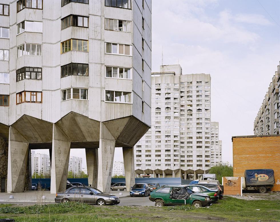 Blokowisko w Petersburgu