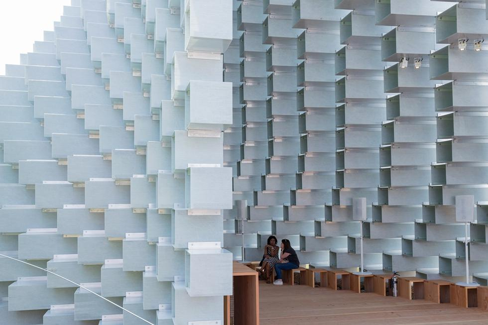 Pawilon letni Serpentine Gallery projektu Bjarke Ingels Group