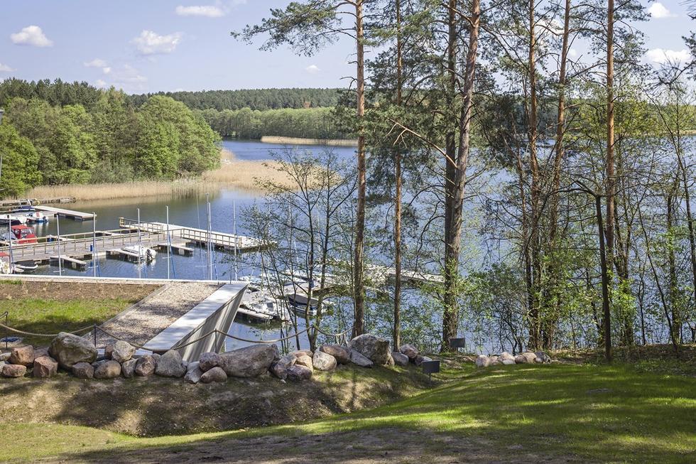 Zagospodarowanie jeziora Ukiel