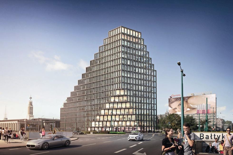 Biurowiec Bałtyk w Poznaniu