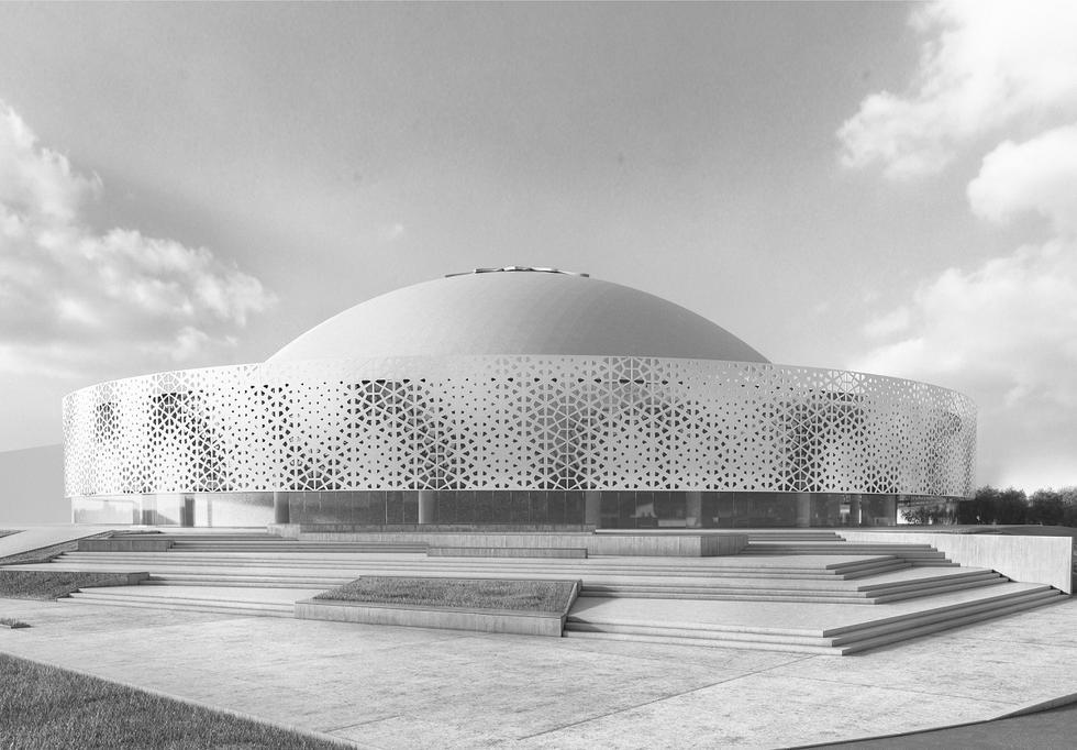 Modernizacja hali Urania w Olsztynie