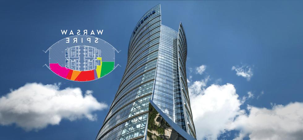 Konkurs na projekt wnętrz w wieżowcu Warsaw Spire