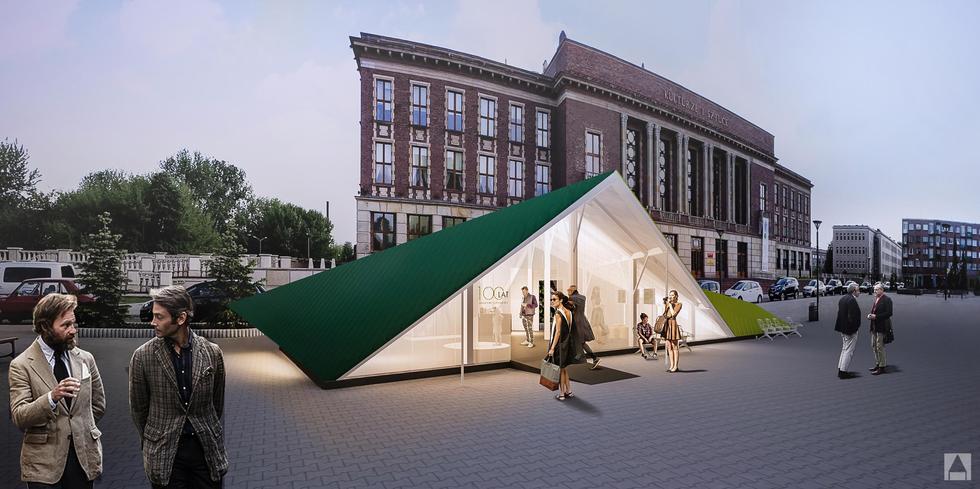 "Pawilon ""Origami Expo"""