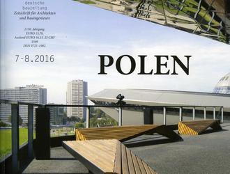 deutsche bauzeitung o współczesnej architekturze w Polsce