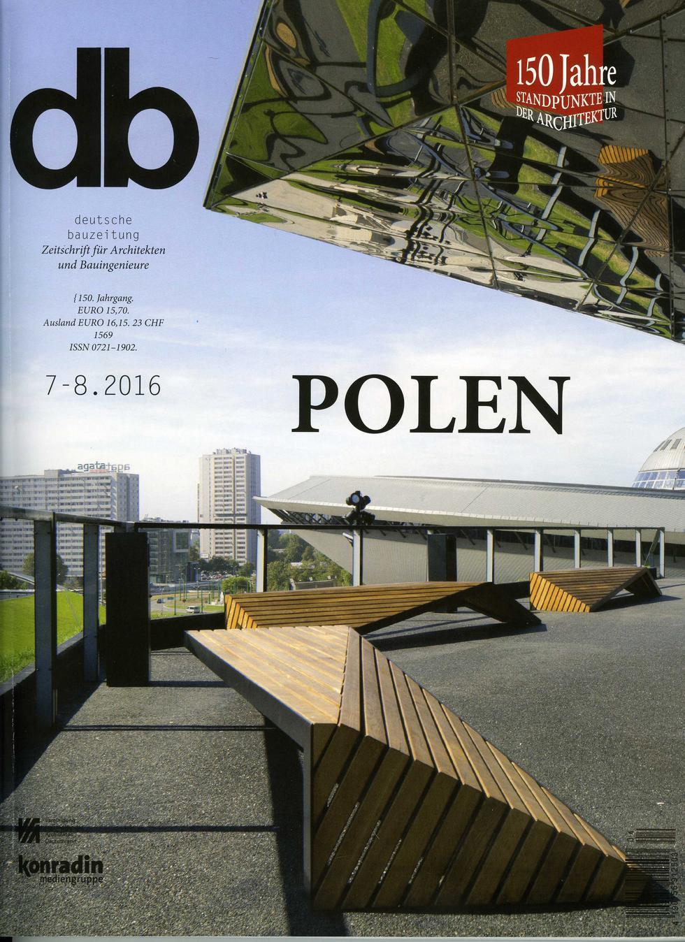 Deutsche Bauzeitung 7-8.2016