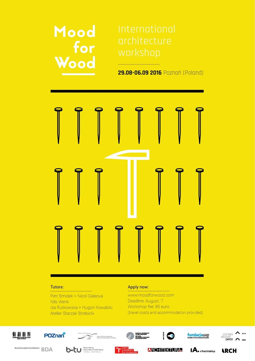 Warsztaty studenckie Mood for Wood