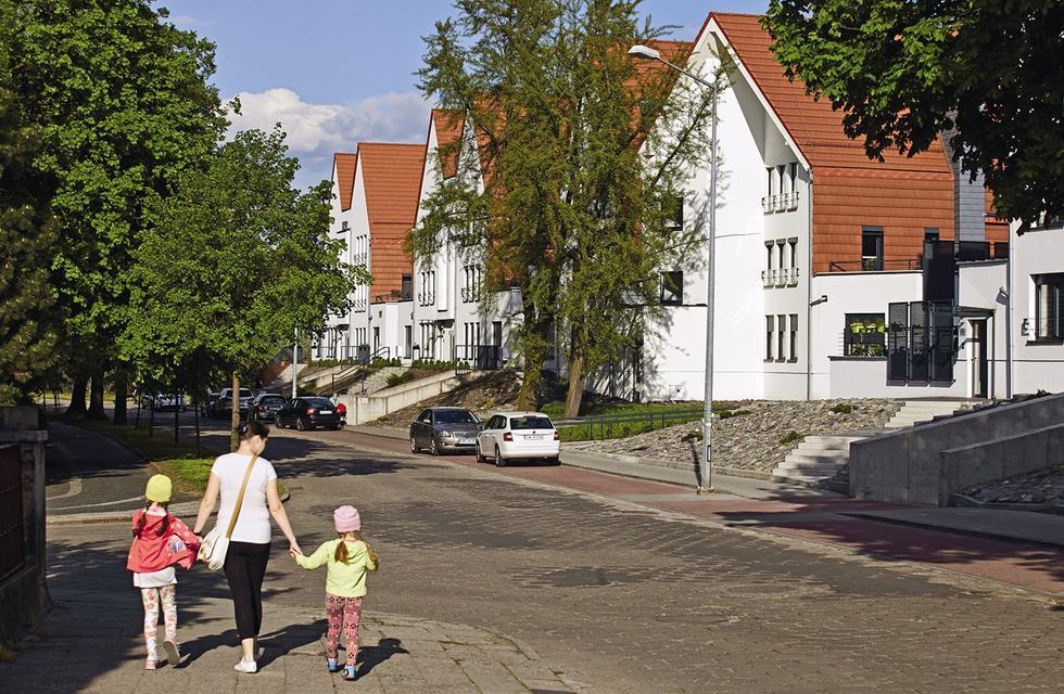 Osiedle domów w Raciborzu