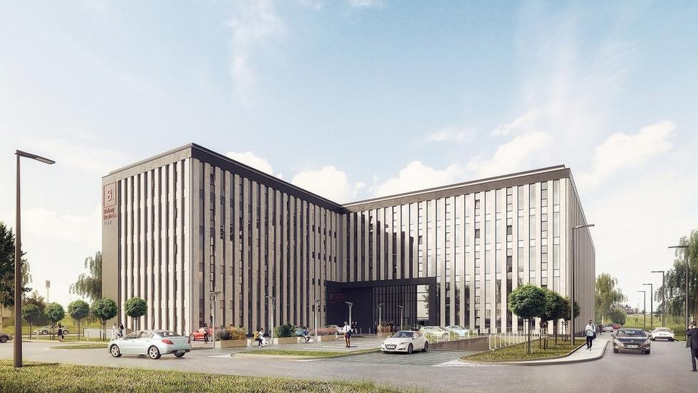Biurowiec Bielany Business Point we Wrocławiu
