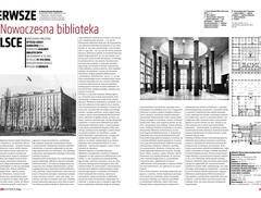 Biblioteka SGH – pierwsza tak nowoczesna biblioteka w Polsce