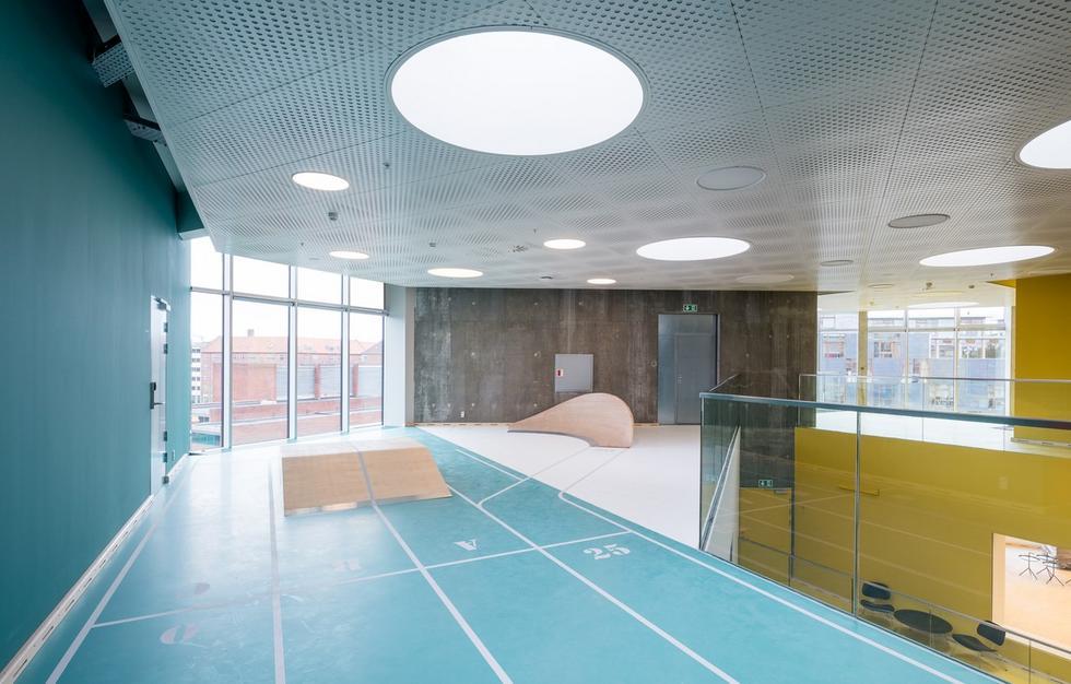 Dom kultury... fizycznej w Frederiksberg