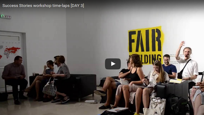 Time-lapse from the third day of workshop [WIDEO]