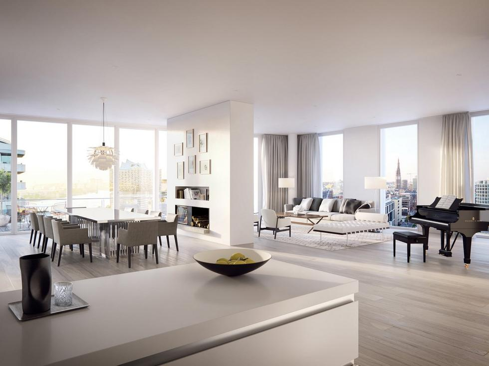 Z widokiem na HafenCity – nowy apartamentowiec Richarda Meiera