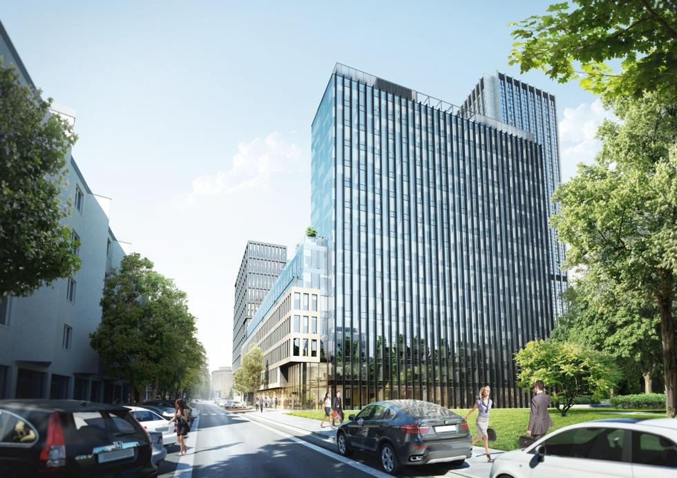 Budynek biurowy Park Avenue w Warszawie