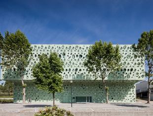 IBS - nowy budynek w kampusie Uniwersytetu Minho