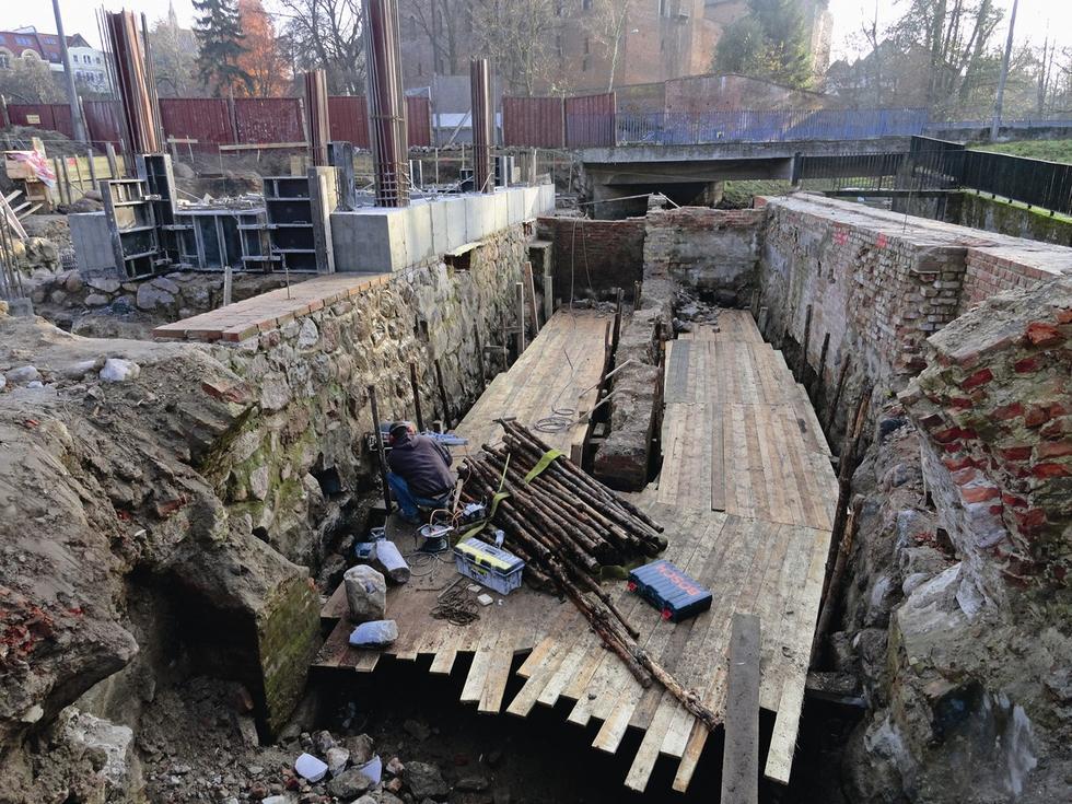 Budowa Browaru Zamkowy Młyn w Olsztynie