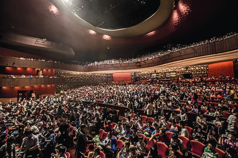 Teatr Narodowy w Taichung na Tajwanie