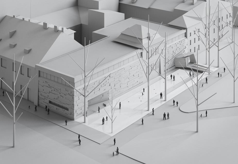 Rozbudowa Bunkra Sztuki w Krakowie