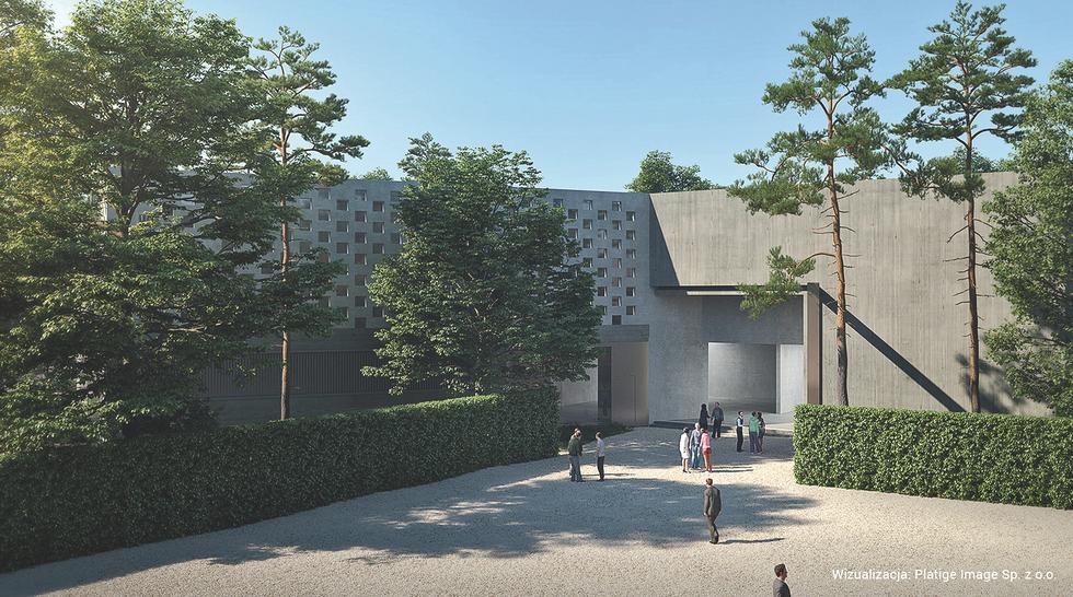 Siedziba muzeum Józefa Piłsudskiego, nowy budynek