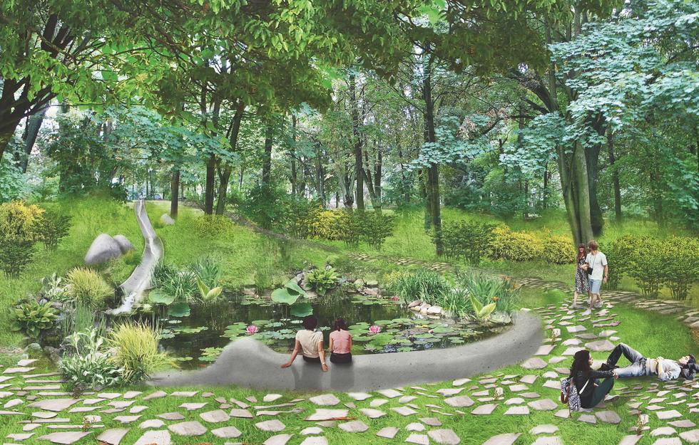Koncepcja zagospodarowania Parku Tysiąclecia