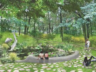 Park w Zielonej Górze