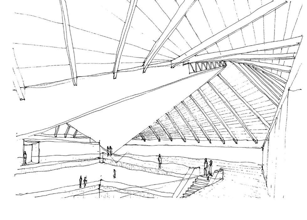Muzeum Dizajnu w Londynie. Szkic koncepcyjny Johna Pawsona
