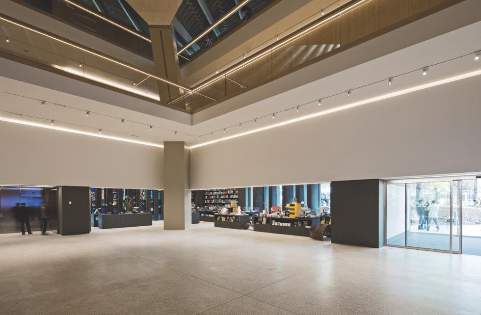 Muzeum Dizajnu w Londynie, audytorium