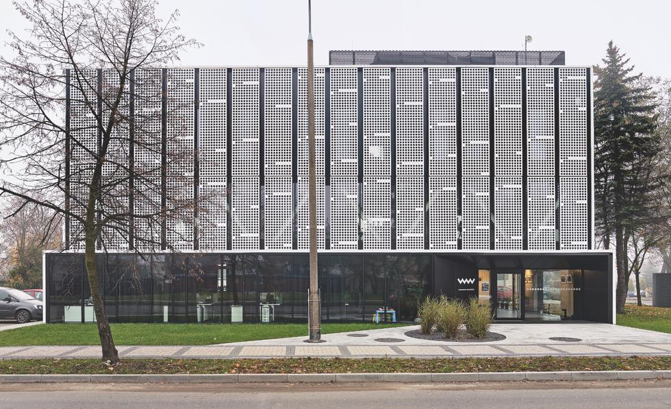 Budynek tygodnika kreuje nową przestrzeń publiczną