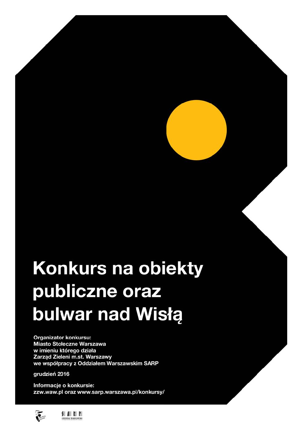 Konkurs architektoniczny na projekt kolejnego odcinka bulwarów w Warszawie