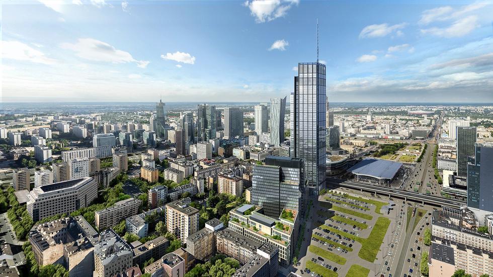 Varso - 310-metrowy wieżowiec powstanie w samym centrum Warszawy