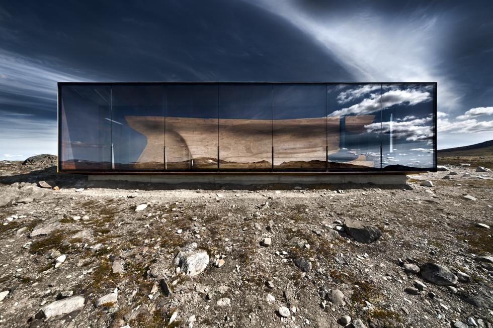 Pawilon obserwacyjny w Norwegii