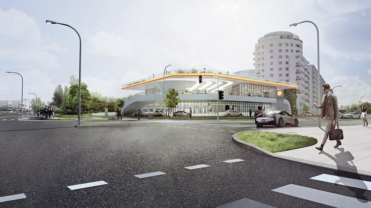 Stacja benzynowa Shell