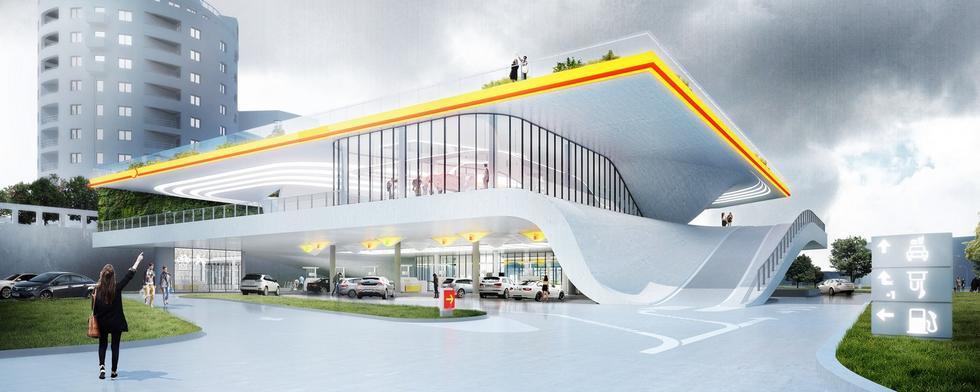 Stacja benzynowa przyszłości
