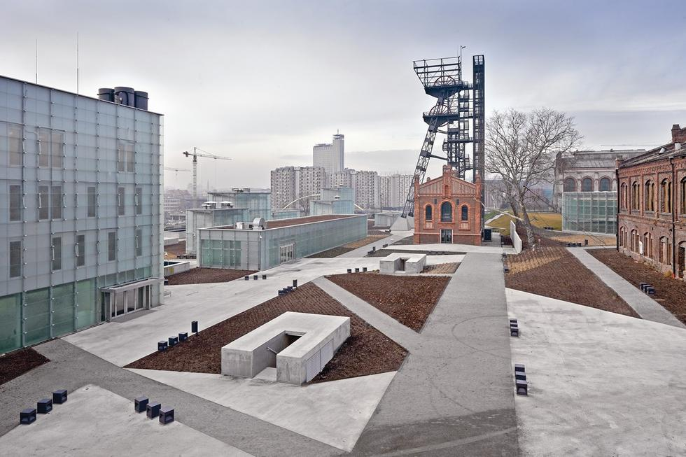 Nowe Muzeum Śląskie w Katowicach, proj. Riegler Riewe Architekten
