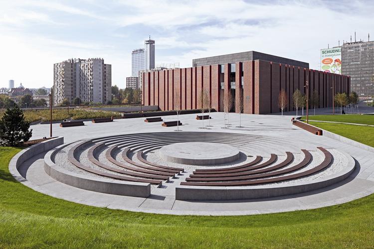 Siedziba Narodowej Orkiestry Symfonicznej Polskiego Radia Katowice, proj. Konior Studio