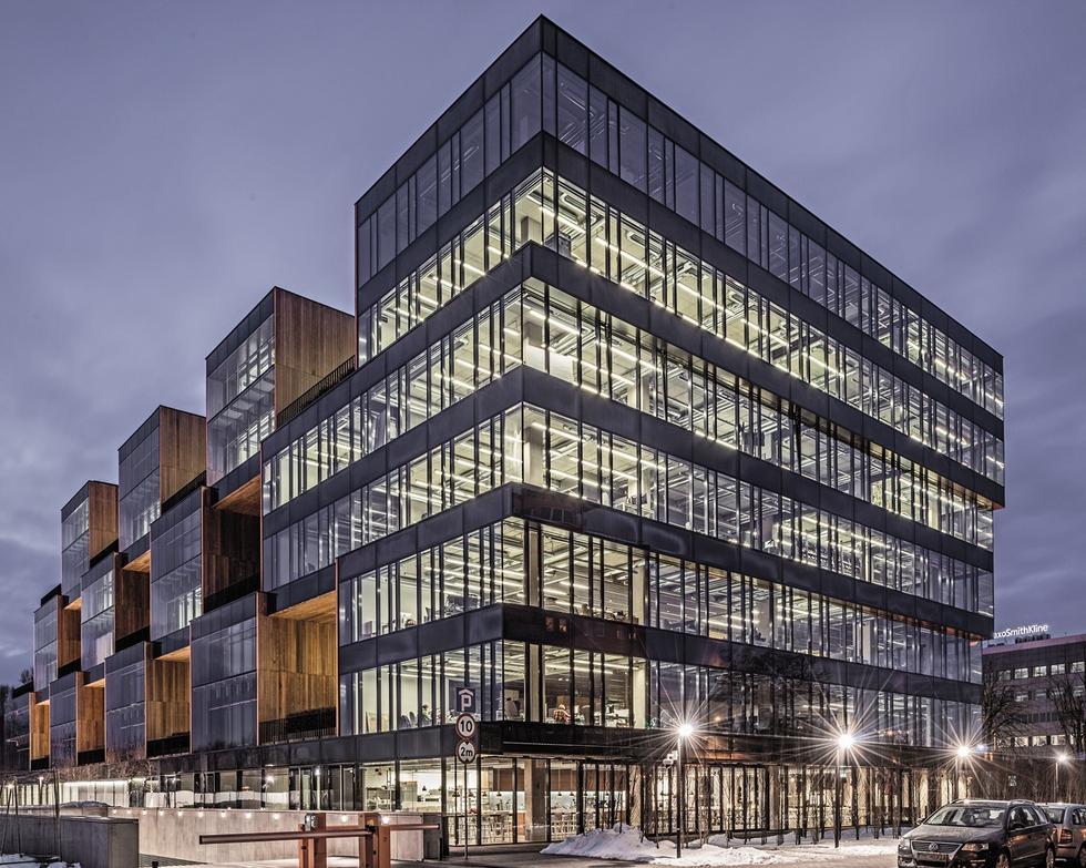 Budynek biurowy Pixel 1, Poznań, proj. JEMS Architekci, 2009-2012