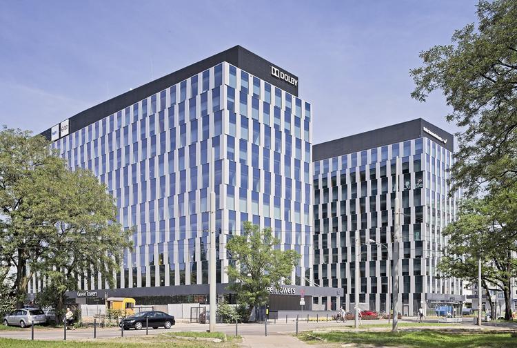 Zespół budynków biurowych Green Towers, Wrocław