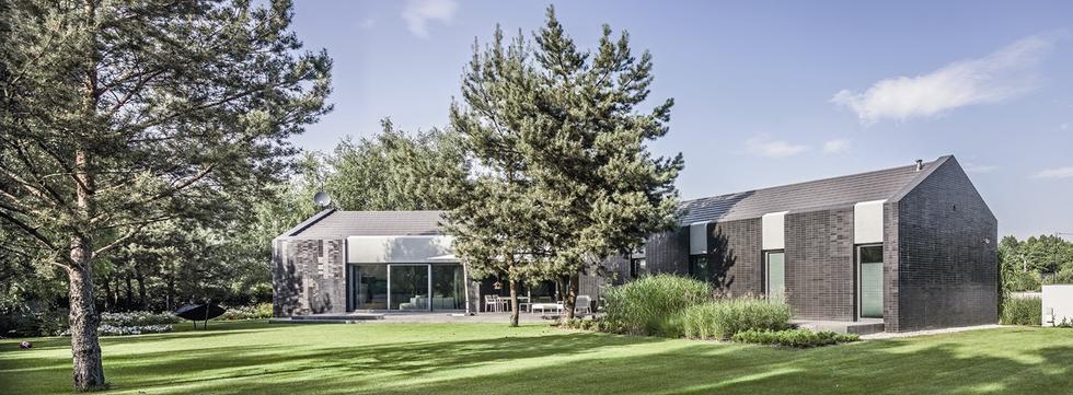 Dom jednorodzinny y-house, Pabianice