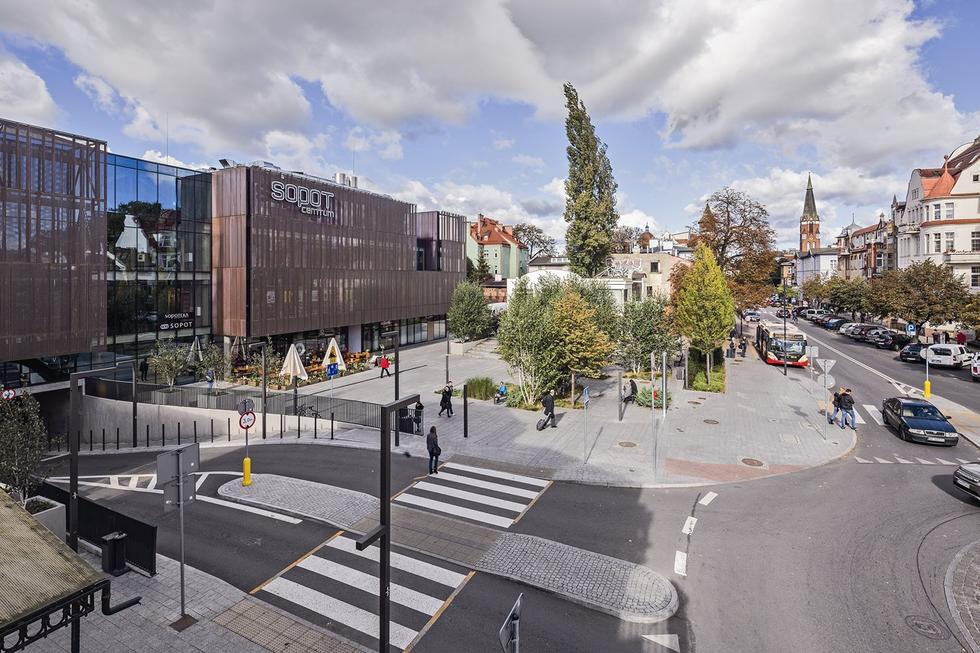 Sopot Centrum. Plac