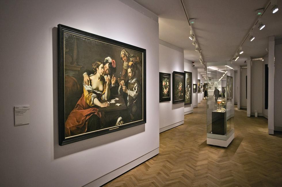 Galeria Sztuki Dawnej MN. Przestrzenie społeczne