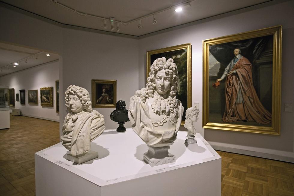 Galeria Sztuki Dawnej MN. Biusty portretowe