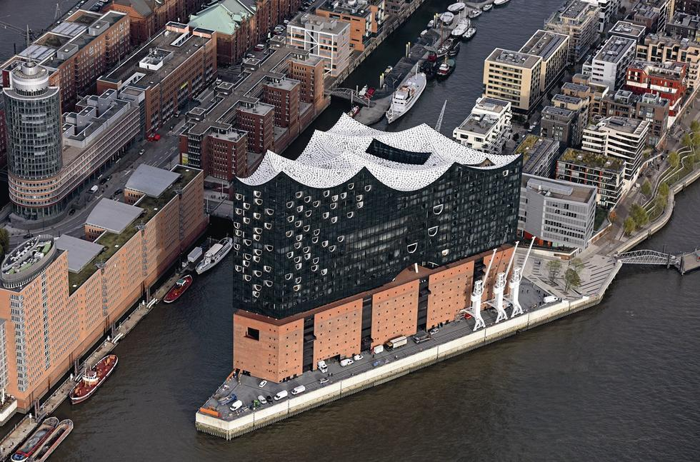 Filharmonia w Hamburgu. Spichlerz