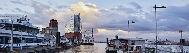Filharmonia w Hamburgu na cyplu