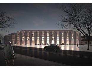 Nowy budynek w idealnym mieście